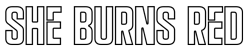 She Burns Red – West Lothian Rock Band Logo